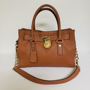 Micheal Kors Leather Handbag